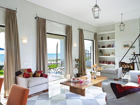 Beach Villa de l'hôtel Mandola Rosa en Grèce