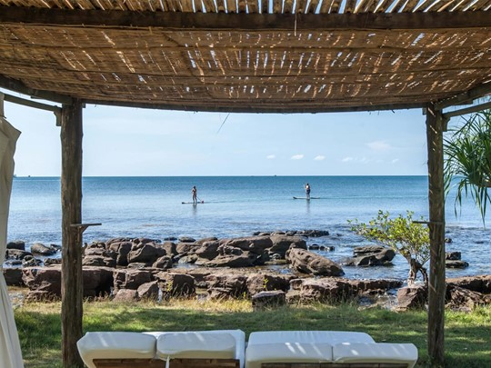 Activités nautiques à l'hôtel Mango Bay situé au Vietnam