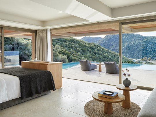 La Suite Deluxe vue mer avec piscine privée