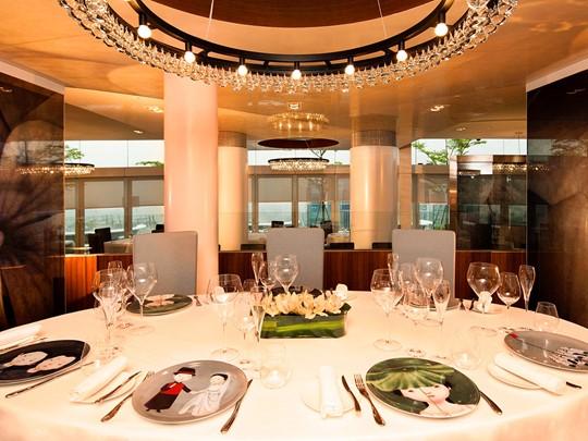 Le restaurant Sky on 59