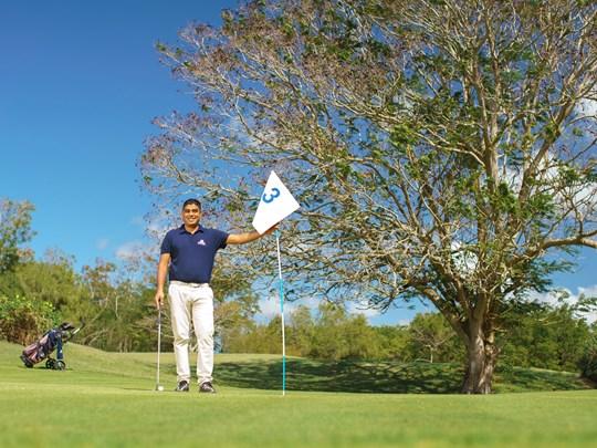 Profitez du parcours de golf