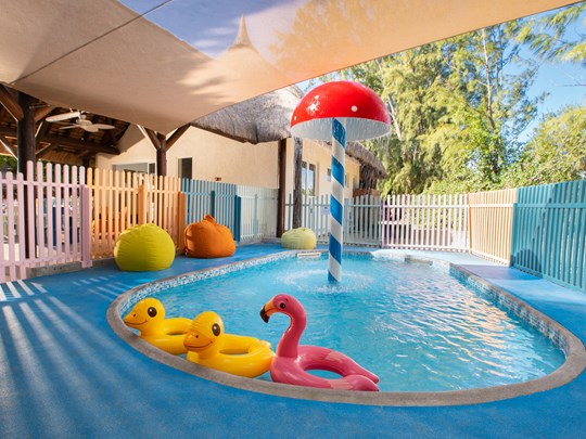 La piscine du Kids Club