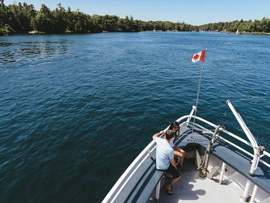 La région des 1000 îles, un joyau naturel de la province d?Ontario