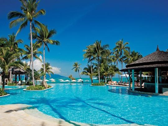 La piscine du Melati, situé au nord de Koh Samui
