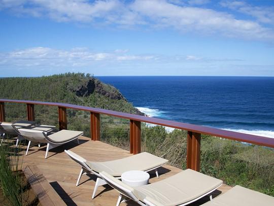 Vue sur l'océan au Palm Hôtel & Spa de la Réunion