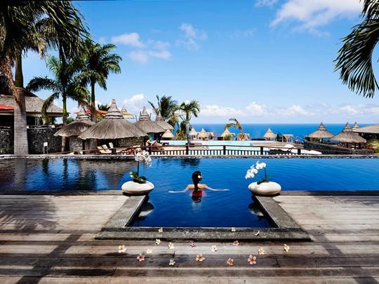 La piscine du Palm Hôtel & Spa de la Réunion