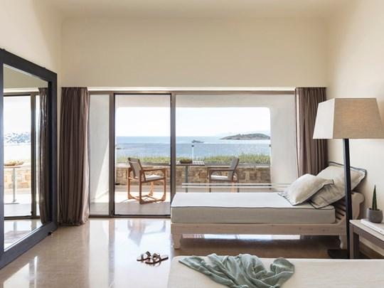 Upper-Deck Ocean View Room