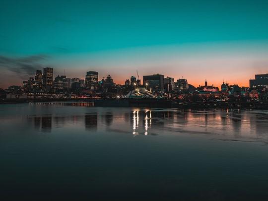 Votre arrivée se fait à Montréal
