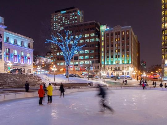 Prenez la route vers la magnifique ville de Québec