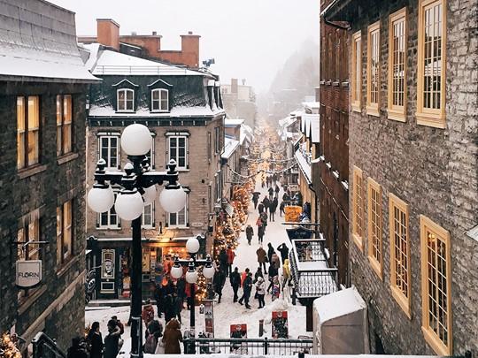 Flânez dans les rues charmantes du quartier du Petit Champlain