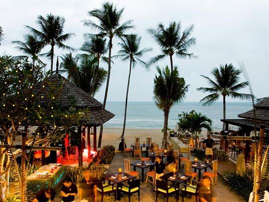 Restaurant du New Star Beach Resort situé sur l'île de Koh Samui