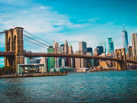 Brooklyn Bridge, l'un des plus anciens ponts suspendus des États-Unis