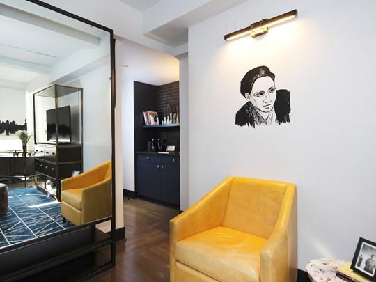 Un hôtel confortable et contemporain, dans l'air du temps