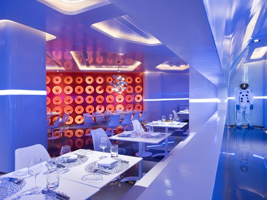 Le restaurant Spacewalker