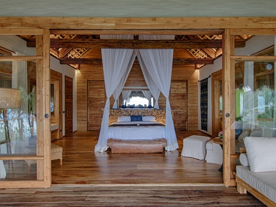 Haweri Villa de l'hôtel Nihi Sumba en Indonésie
