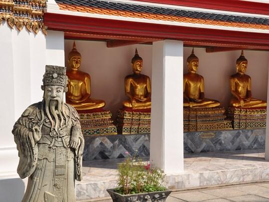 Partez à la découverte de Bangkok et de ses principaux sites tels que le Wat Pho