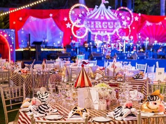 Un dîner remarquable et une ambiance des plus festive