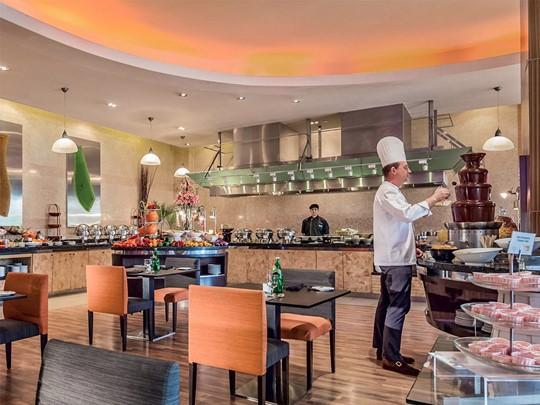 Restaurant de l'hôtel Novotel Clarke Quay à Singapour