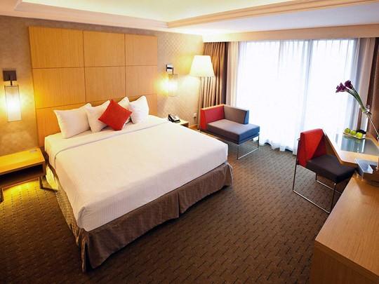 Superior Room du Novotel Clarke Quay Singapore