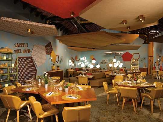 Le restaurant Bluewater Grill