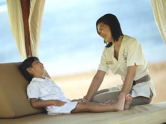 Le Nusa Dua Beach Hotel est un paradis pour les petits
