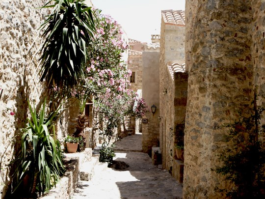Rue de la citadelle de Monemvassia