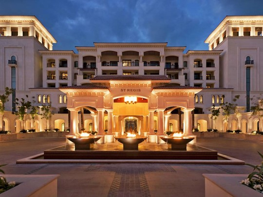 L'hôtel The St Régis Abu Dhabi