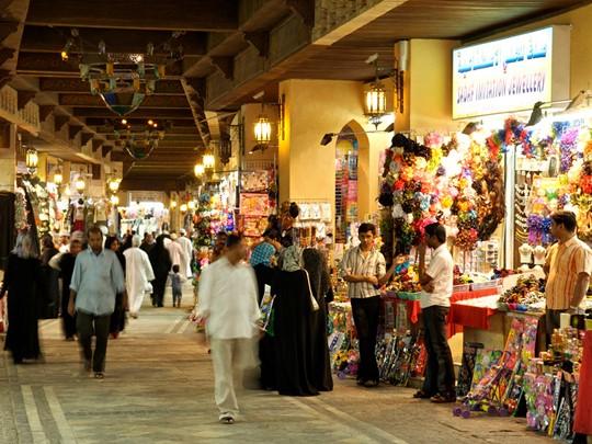 Le souk de Matrah, l'un des plus anciens marchés d'Oman