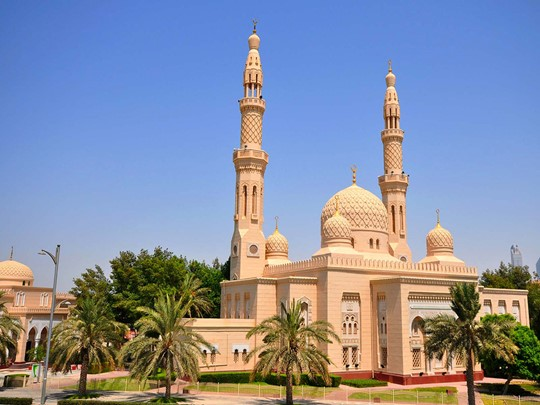 La mosquée de Jumeirah