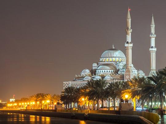 La mosquée Al Noor, surnommée « la mosquée des lumières »
