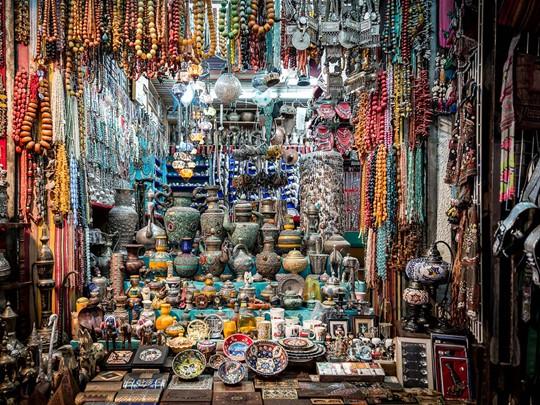 Le souk de Matrah, le plus ancien et le plus connu du pays