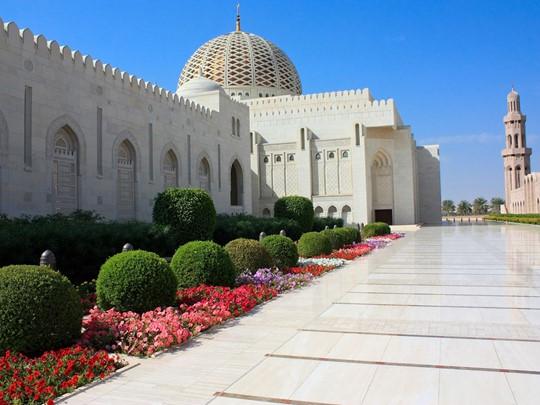 La Grande Mosquée du Sultan Qabus