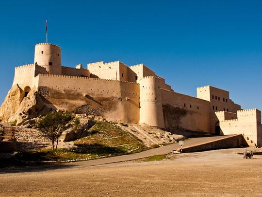 Le fort de Nakhal