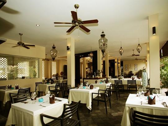 Le restaurant de l'hôtel PadiVilla Resort & Spa