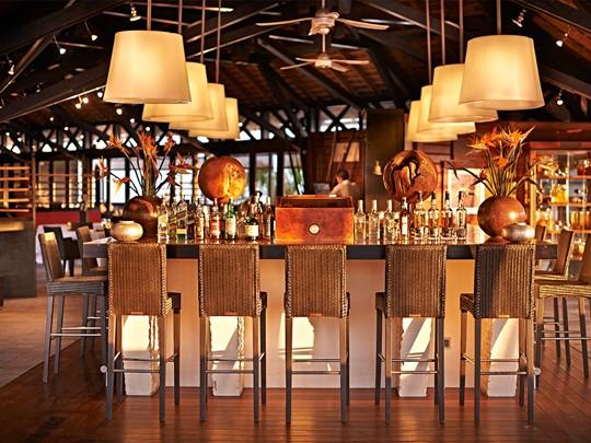 Le bar Kokoa du Palm Hôtel & Spa à la Réunion