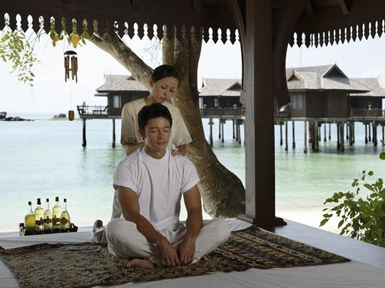 Massage en plein air