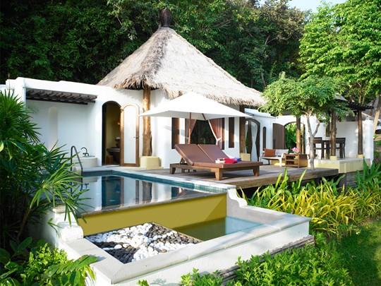 Garden Pool Villa de l'hôtel Paradee en Thaïlande