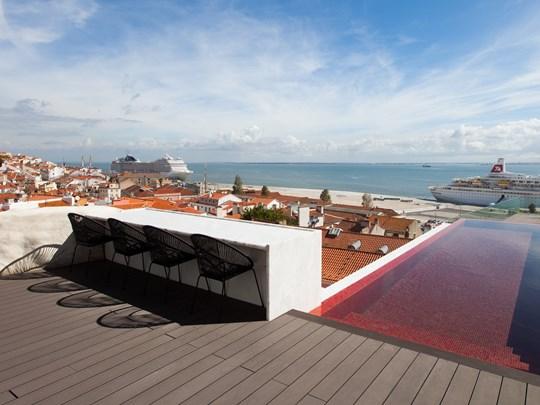 Vue sur la ville de Lisbonne