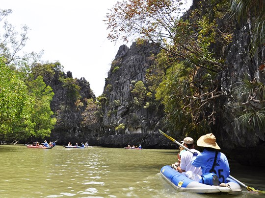 La rivière de Klong Sok