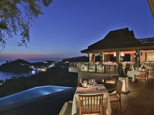 Le restaurant Seven Seas