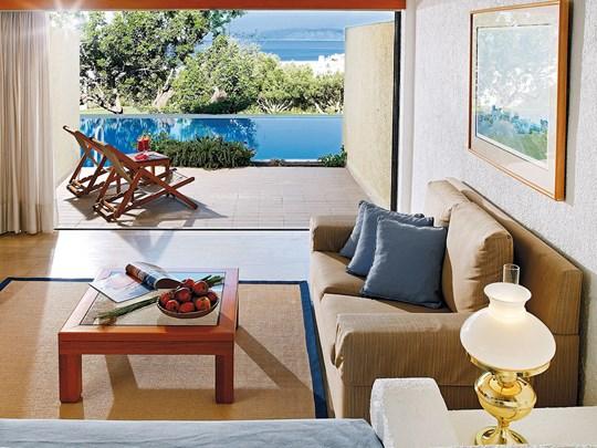 Porto Seaview Suite Shared Pool