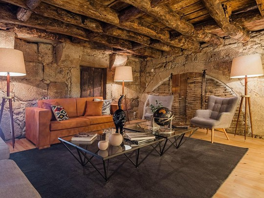 Le lounge du Porto River