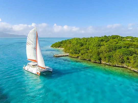 Naviguez sur les eaux claires de l'océan au Preskil Island Resort