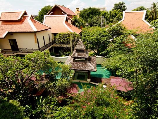 Vue du Puripunn situé dans la ville de Chiang Mai