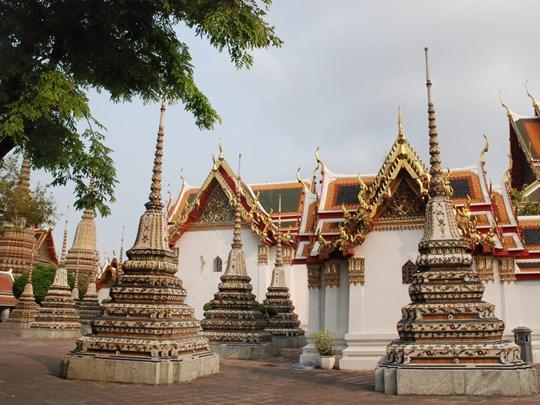 Le Wat Pho, véritable perle parmi les temples de la ville