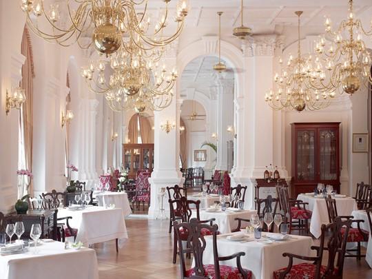 Restaurant Raffles Grill de l'hôtel Raffles Singapore