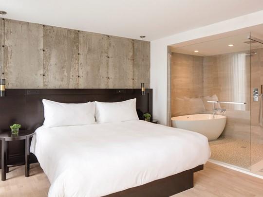 Des chambres à la décoration épurée