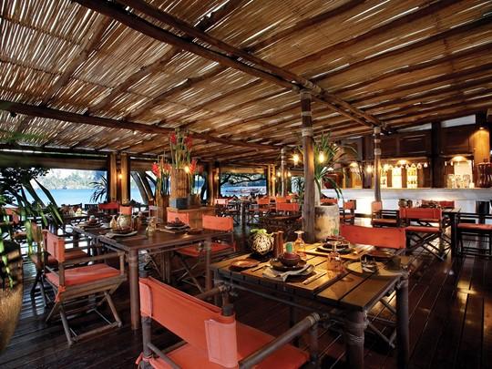 Le restaurant Raitalay Terrace