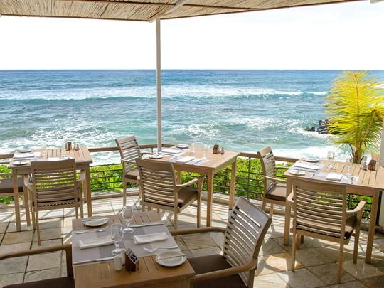 Le restaurant La Pointe aux Piments