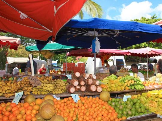 Le marché de Saint-Denis